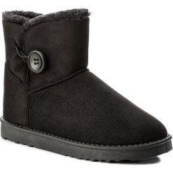 Buty JENNY FAIRY - WS1655-22 Czarny. Czarne buty zimowe damskie marki Jenny Fairy, ze skóry ekologicznej. Za 79,99 zł.