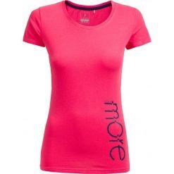 T-shirt damski TSD601 - różowy - Outhorn. Czerwone t-shirty damskie Outhorn, z bawełny. W wyprzedaży za 24,99 zł.