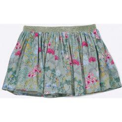 Blukids - Spódnica dziecięca 68-98 cm. Szare minispódniczki Blukids, z tkaniny, rozkloszowane. W wyprzedaży za 49,90 zł.