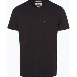 Tommy Jeans - T-shirt męski, czarny. Czarne t-shirty męskie marki Tommy Jeans, m, z jeansu. Za 139,95 zł.