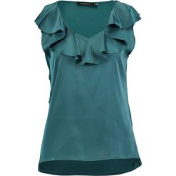 Bluzki asymetryczne: Cortefiel VOLANTE Bluzka petrol