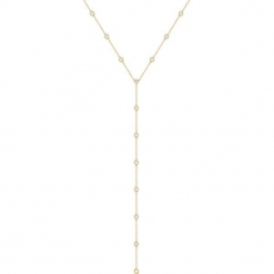 Pozłacany naszyjnik - (D)41 cm. Żółte naszyjniki damskie marki METROPOLITAN, pozłacane. W wyprzedaży za 139,95 zł.