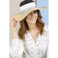 Kapelusze damskie: Trójbarwny kapelusz II
