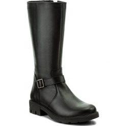 Buty zimowe damskie: Kozaki WASAK - 0482 Czarny