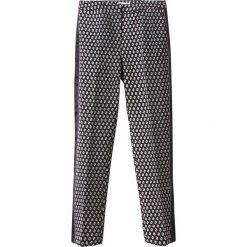 Rurki damskie: Spodnie 7/8, geometryczny wzorek
