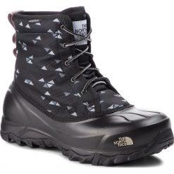 Śniegowce THE NORTH FACE - Tsumoru Boot T93MKT5UB  Tnf Black Triangle Weave Print/Foil Grey. Czarne buty zimowe damskie The North Face, z materiału. W wyprzedaży za 369,00 zł.