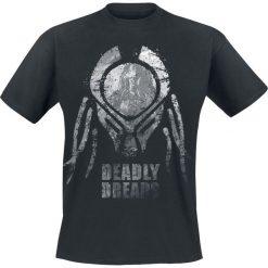 Predator Deadly Dreads T-Shirt czarny. Czarne t-shirty męskie z nadrukiem Predator, l, z okrągłym kołnierzem. Za 74,90 zł.