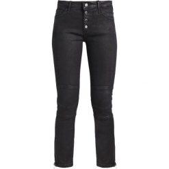 Boyfriendy damskie: Rich & Royal Jeans Skinny Fit denim black