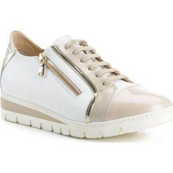 Buty damskie 84-D-110-8. Brązowe buty sportowe damskie marki NEWFEEL, z gumy. Za 399,00 zł.