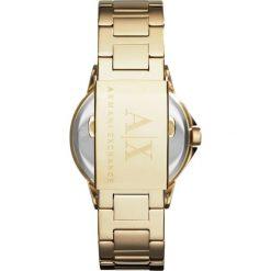 Armani Exchange Zegarek goldcoloured. Żółte, analogowe zegarki damskie Armani Exchange. Za 999,00 zł.