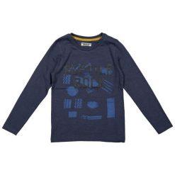 Dirkje Koszulka Chłopięca Reptile Rock 122 Niebieski. Białe t-shirty chłopięce z nadrukiem marki 4F JUNIOR, na lato, z dzianiny, z dekoltem na plecach. Za 55,00 zł.
