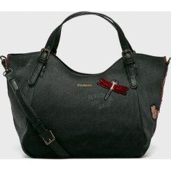 Desigual - Torebka. Czarne torebki klasyczne damskie Desigual. W wyprzedaży za 279,90 zł.