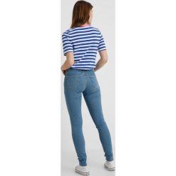 Topshop SIDNEY Jeans Skinny Fit blue. Niebieskie rurki damskie Topshop. Za 229,00 zł.