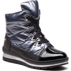 Śniegowce CAPRICE - 9-26212-21  Silver Multi 931. Czarne buty zimowe damskie Caprice, z materiału. W wyprzedaży za 209,00 zł.