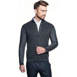 Sweter burford stójka szary. Szare swetry klasyczne męskie marki Recman, m, z długim rękawem. Za 289,00 zł.