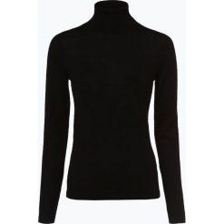 Brookshire - Sweter damski z domieszką wełny merino, czarny. Czarne swetry klasyczne damskie marki brookshire, m, w paski, z dżerseju. Za 179,95 zł.