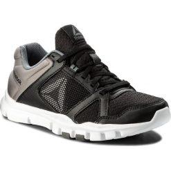 Buty Reebok - Yourflex Train 10 Mt BS9884  Black/White/Alloy. Czarne buty do fitnessu damskie marki Reebok, z materiału, reebok yourflex. W wyprzedaży za 169,00 zł.