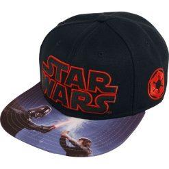 Star Wars Darth Vader - Fight Czapka Snapback czarny. Czarne czapki męskie Star Wars, z motywem z bajki, z tworzywa sztucznego. Za 42,90 zł.