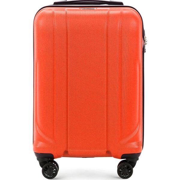 637cac9abbc63 Walizka kabinowa 56-3P-861-55 - Pomarańczowe walizki Wittchen, bez ...