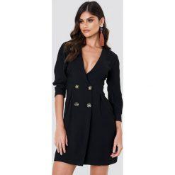 Marynarki i żakiety damskie: Trendyol Sukienka w stylu marynarki - Black