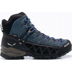 Salewa - Buty ALP FLOW MID GTX. Czarne buty trekkingowe męskie marki Lowa, z gumy, outdoorowe. W wyprzedaży za 599,90 zł.