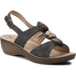 Rzymianki damskie: Sandały INBLU – GLATOO06 Czarny
