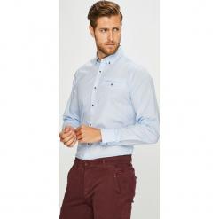 Medicine - Koszula Basic. Szare koszule męskie na spinki MEDICINE, l, z bawełny, button down, z długim rękawem. Za 99,90 zł.