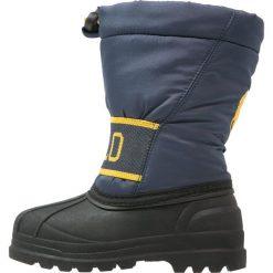 Polo Ralph Lauren JAKSON Śniegowce navy/yellow. Czerwone buty zimowe chłopięce marki Polo Ralph Lauren. W wyprzedaży za 197,45 zł.