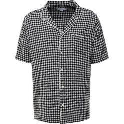 Soulland BRANDT BOWLING Koszula black/white. Czarne koszule męskie marki Soulland, m, z bawełny. W wyprzedaży za 468,30 zł.