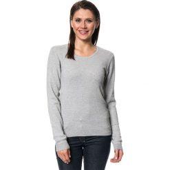 Swetry damskie: Sweter w kolorze szarym