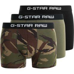 GStar TACH TRUNK CAMO 3 PACK Panty black/sage/bright rovic green. Czarne bokserki męskie G-Star, z bawełny. Za 209,00 zł.