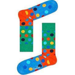 Happy Socks - Skarpety Big Dot Block. Zielone skarpetki męskie Happy Socks, z bawełny. Za 39,90 zł.