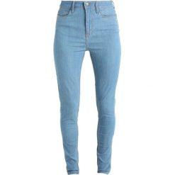 Monkee Genes JANE HIGH WAISTED SILHOUETTE Jeans Skinny Fit cali blue. Niebieskie jeansy damskie Monkee Genes. Za 479,00 zł.