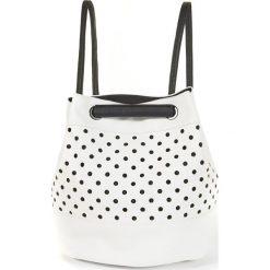 Plecaki damskie: Plecak z perforacjami