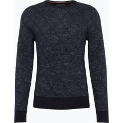Tommy Hilfiger - Sweter męski - Karl, niebieski. Czarne swetry klasyczne męskie marki TOMMY HILFIGER, l, z dzianiny. Za 649,95 zł.