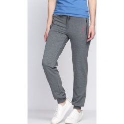 Spodnie dresowe damskie: Ciemnoszare Spodnie Dresowe Being Born