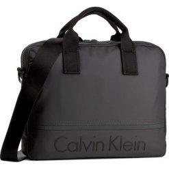 Torba na laptopa CALVIN KLEIN BLACK LABEL - Matthew Laptop Bag K50K502852  009. Czarne plecaki męskie marki Calvin Klein Black Label, z materiału. W wyprzedaży za 369,00 zł.