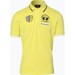 La Martina - Męska koszulka polo, żółty. Żółte koszulki polo La Martina, m. Za 349,95 zł.