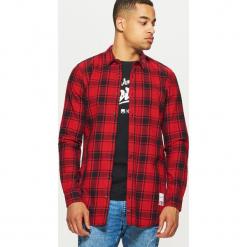 Koszula o dłuższym kroju - Czerwony. Czerwone koszule męskie marki Cropp, l. Za 99,99 zł.