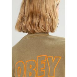 Bluzy damskie: Obey Clothing STATIC JUMBLE Bluza dusty tapenade