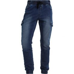 Only & Sons ONSKENN Jeansy Slim Fit medium blue denim. Brązowe jeansy męskie marki Only & Sons, l, z poliesteru. Za 169,00 zł.