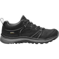 Buty trekkingowe damskie: Keen Buty damskie Terradora Leather WP Black/Steel Grey r. 37.5  (1018017)
