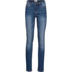 """Dżinsy """"authentik-stretch"""" SKINNY bonprix niebieski. Niebieskie boyfriendy damskie bonprix, z jeansu. Za 89,99 zł."""