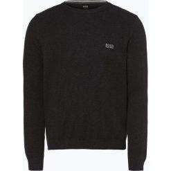 BOSS Athleisurewear - Sweter męski – Rafal, szary. Szare swetry klasyczne męskie BOSS Athleisurewear, m, z bawełny. Za 549,95 zł.