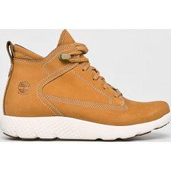 Timberland - Buty FlyRoam WP. Szare buty sportowe damskie Timberland, z gumy. Za 649,90 zł.