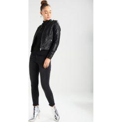 Bomberki damskie: Vero Moda VMALICE Kurtka ze skóry ekologicznej black