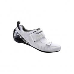 Buty na rower do triathlonu TR5 męskie. Szare buty skate męskie marki Shimano, rowerowe. Za 319,99 zł.
