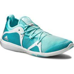 Buty adidas - adipure 360.4 W BA8728 Eneblu/Claqu. Niebieskie buty do fitnessu damskie marki Salomon, z gore-texu, na sznurówki, gore-tex. W wyprzedaży za 269,00 zł.