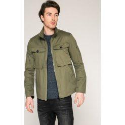 G-Star Raw - Kurtka. Szare kurtki męskie przejściowe marki G-Star RAW, l, z bawełny, retro. W wyprzedaży za 399,90 zł.