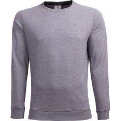 Bluza męska BLM600 - średni szary melanż - Outhorn. Szare bluzy męskie rozpinane Outhorn, na lato, m, melanż, z materiału. W wyprzedaży za 44,99 zł.